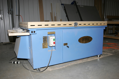 Denray 7200 Downdraft Table Photo