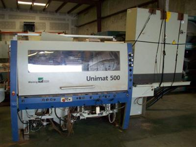 Weinig Unimat 500 (6) Head Moulder Photo