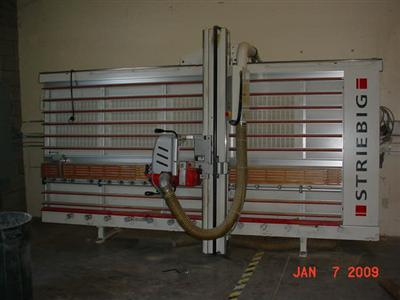 Striebig Compact Vertical Panel Saw Photo