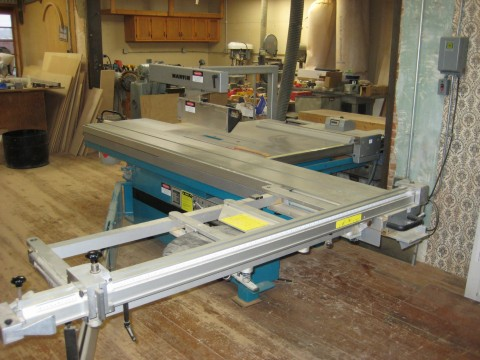 Martin T72A Sliding Table Panel Saw Photo