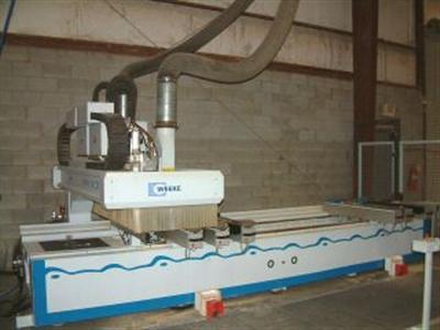 Weeke BHC-350 Point to Point Machining Center Photo