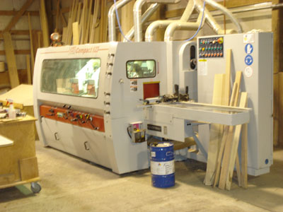 Leadermac LMC-623C Compact (6) Spindle Moulder Photo a