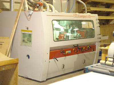 Leadermac LMC-623C Compact (6) Spindle Moulder Photo b