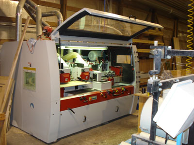 Leadermac LMC-623C Compact (6) Spindle Moulder Photo f
