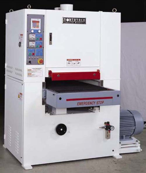 NorthTech Wide Belt Sander 100 series northtech wide belt sander 100 manual, northtech wide belt sander Gang Belt Sander at nearapp.co