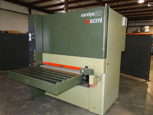 SCMI Sandya 30 -30-RT-130 Wide Belt Sander Photo