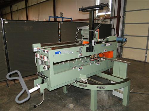Midwest Automation 5033 Cutting Station w/ Laser Photo