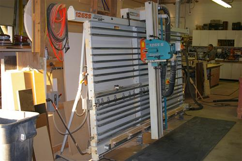 Holz Her 1265 S Vertical Panel Saw Photo