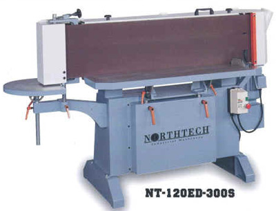 Northtech NT-120ED-300S Oscillating Industrial Edge Sander Photo