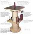 Max Oscillating Vertical Spindle Sander