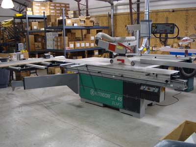 Altendorf F 45 3200 Elmo 3 Sliding Table Panel Saw F 45