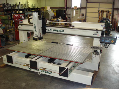 Cr Onsrud 120c 10 Cnc Router Cr Onsrud 5 X 10 Cnc Router